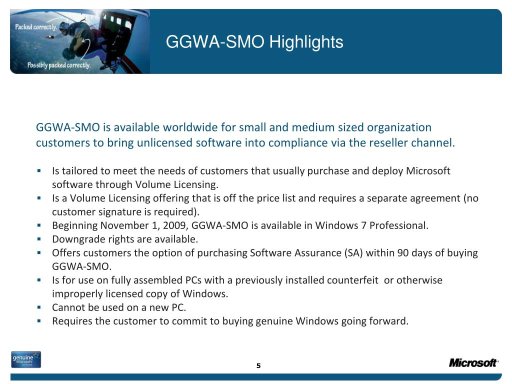 GGWA-SMO Highlights