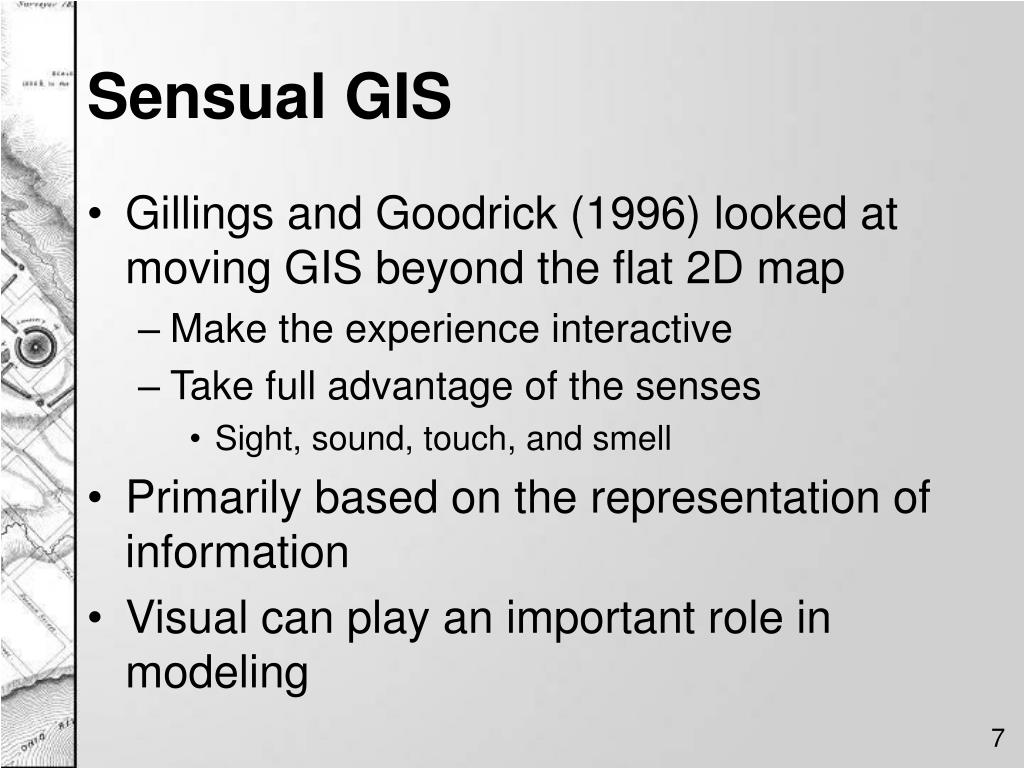 Sensual GIS