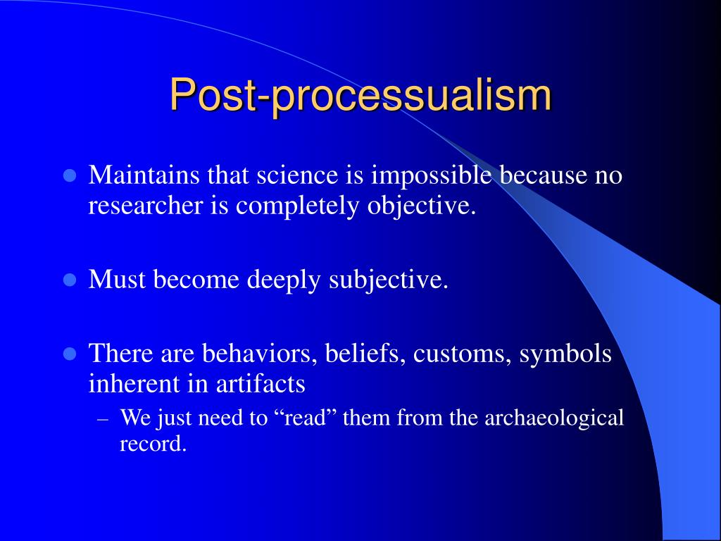 Post-processualism