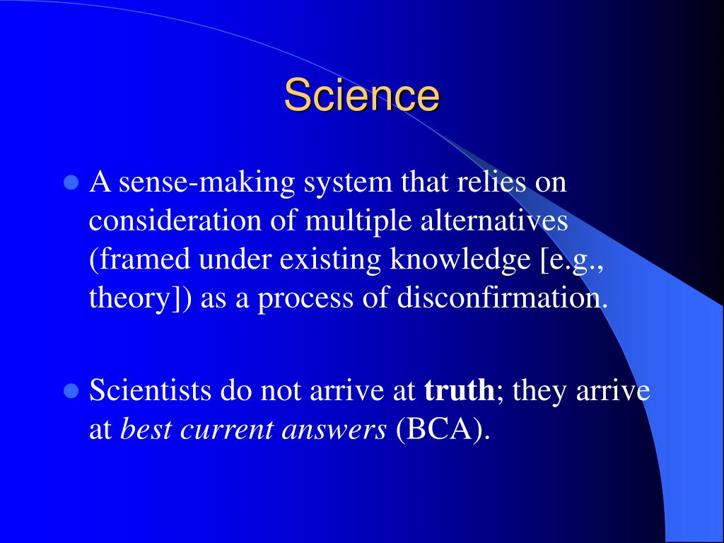 Science