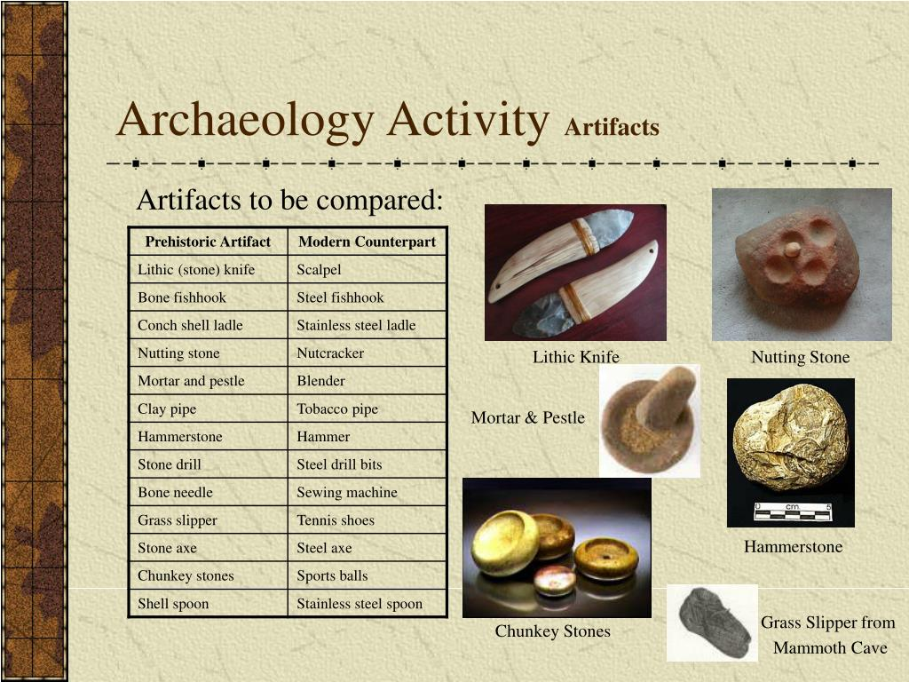 Archaeology Activity
