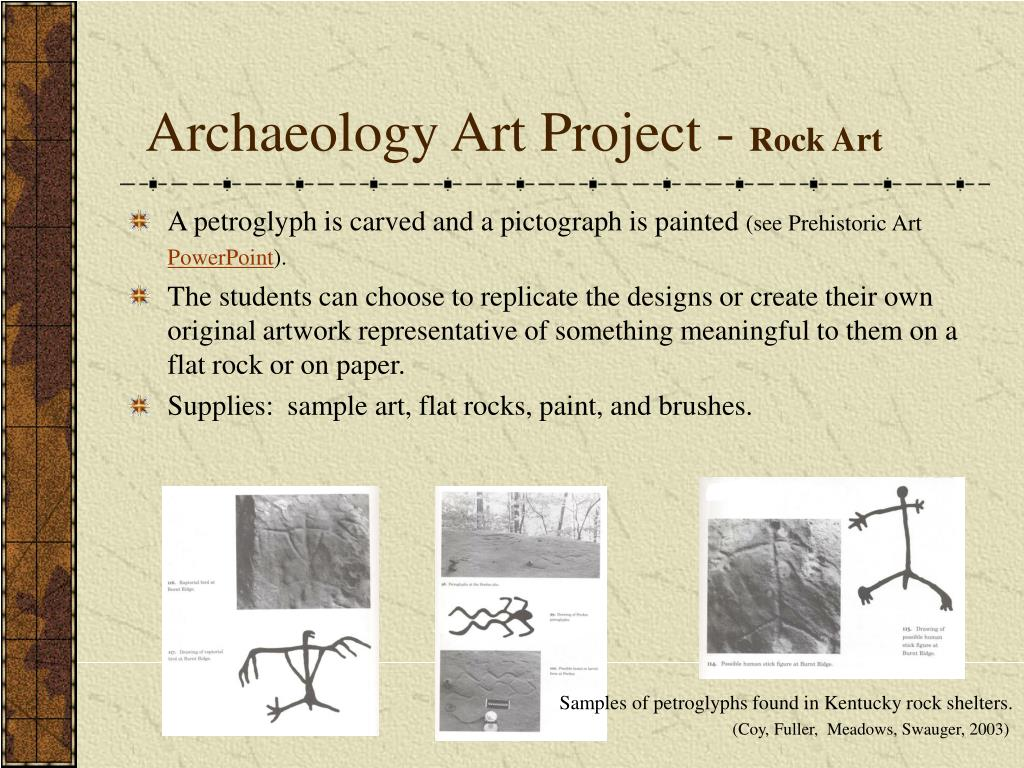 Archaeology Art Project -