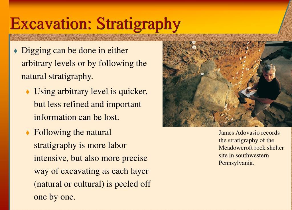 Excavation: Stratigraphy