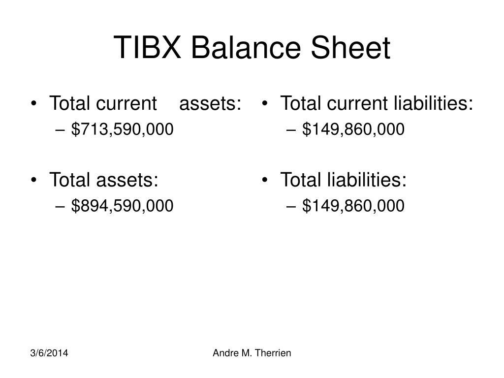 Total current    assets: