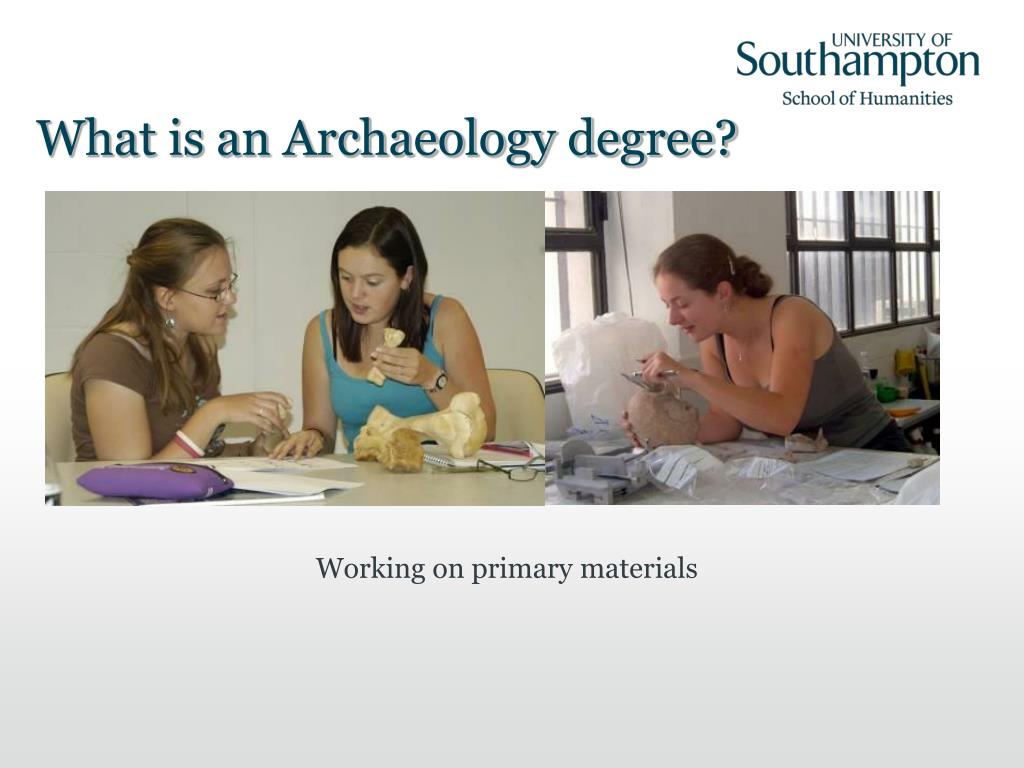 What is an Archaeology degree?