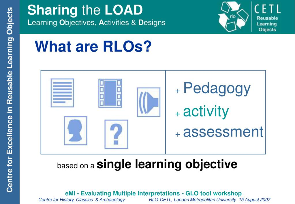 What are RLOs?