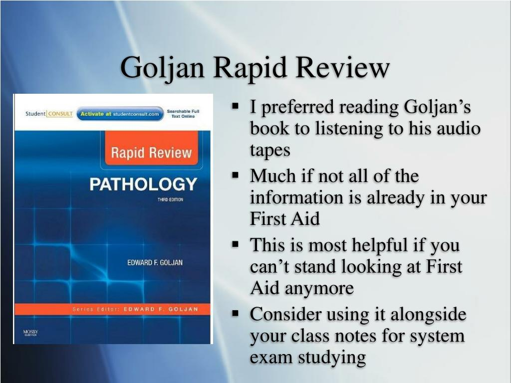 Goljan Rapid Review