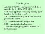 tripartite system