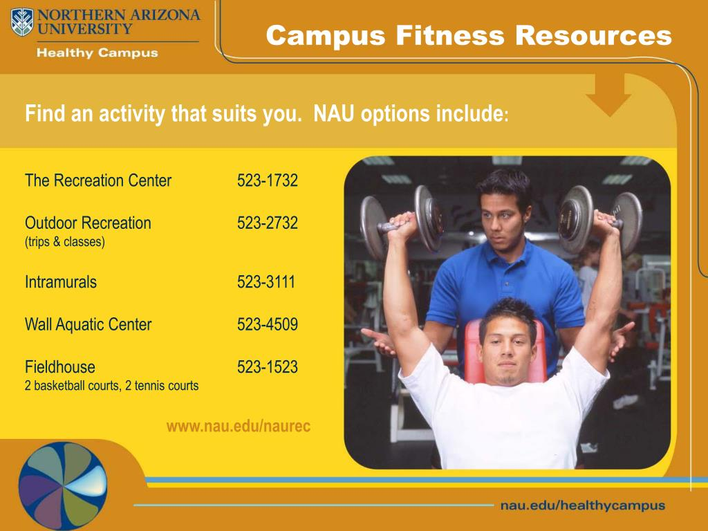 Campus Fitness Resources