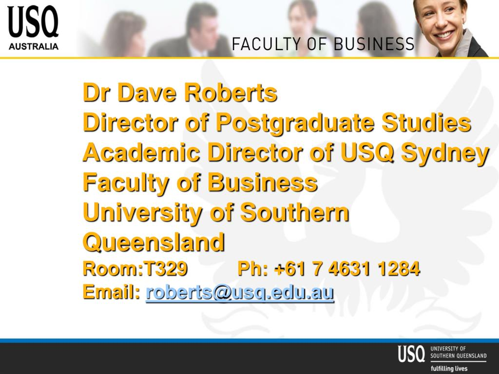 Dr Dave Roberts