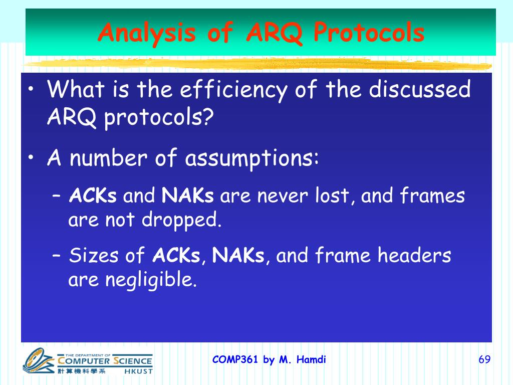 Analysis of ARQ Protocols