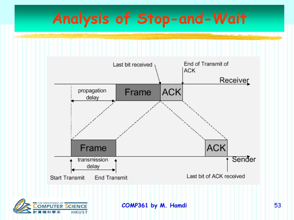Analysis of Stop-and-Wait