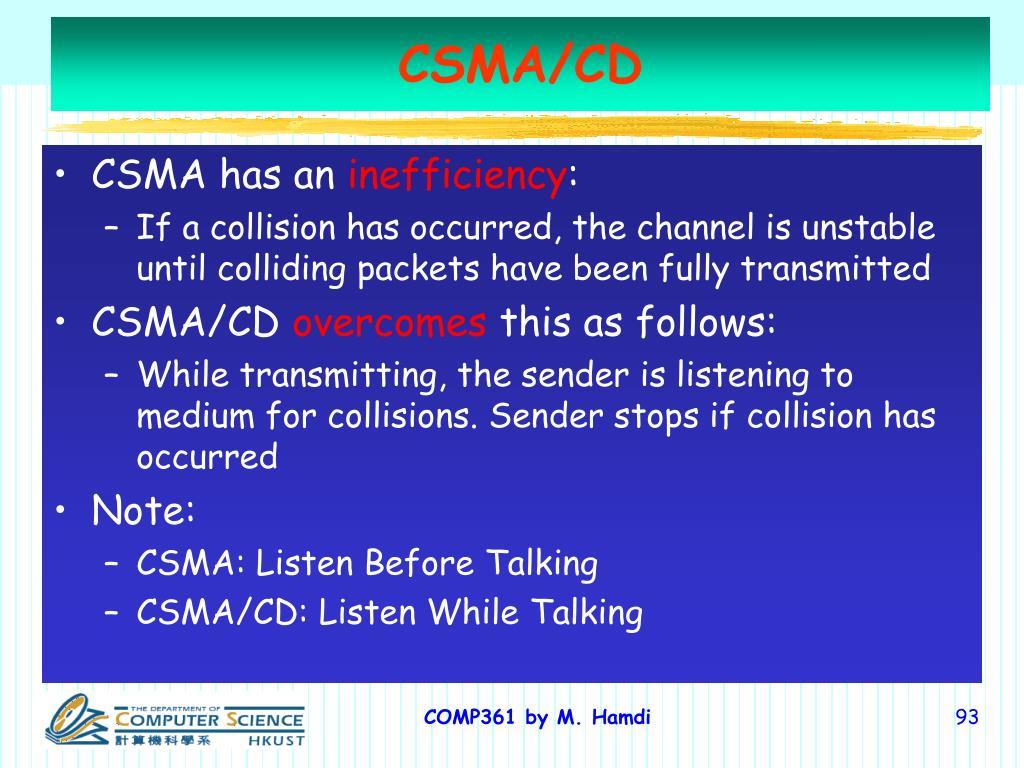 CSMA/CD