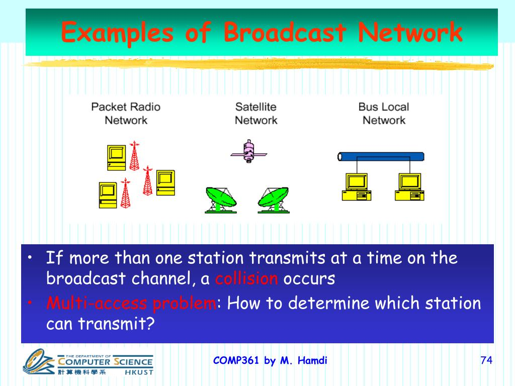 Examples of Broadcast Network