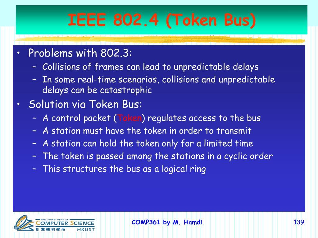 IEEE 802.4 (Token Bus)