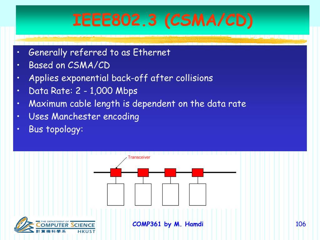 IEEE802.3 (CSMA/CD)