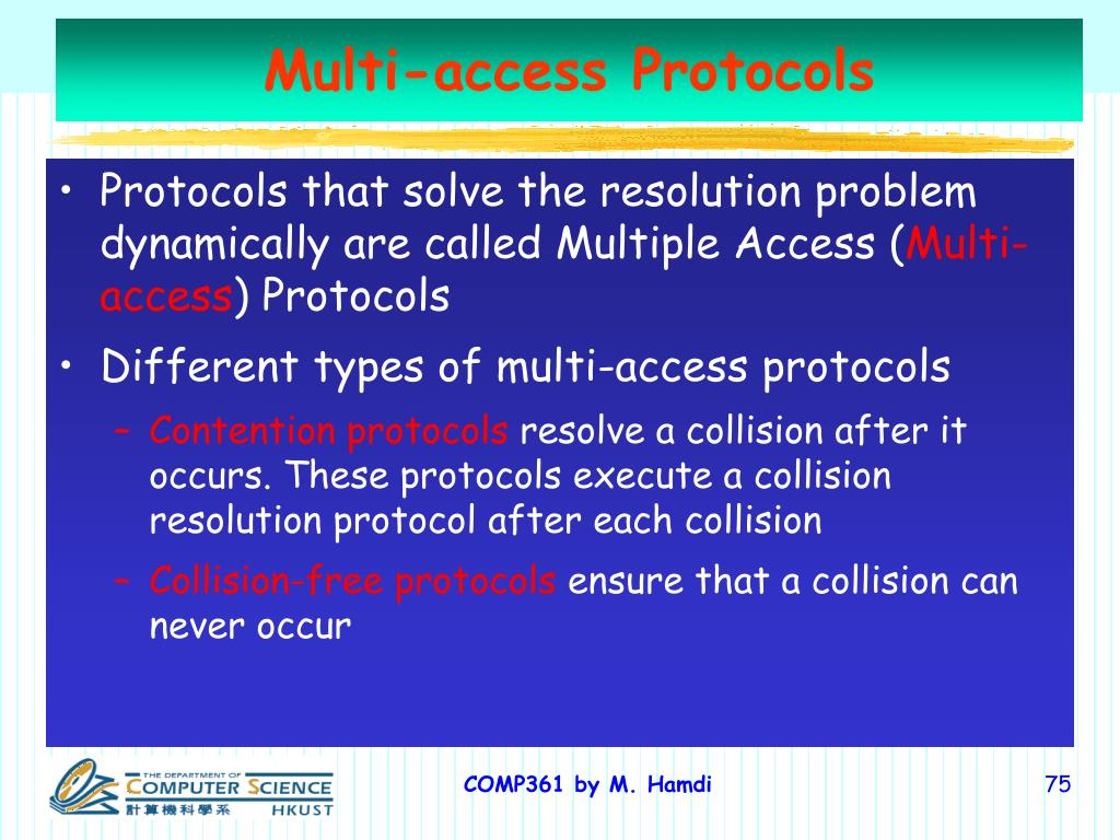 Multi-access Protocols