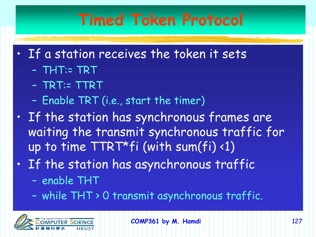 Timed Token Protocol