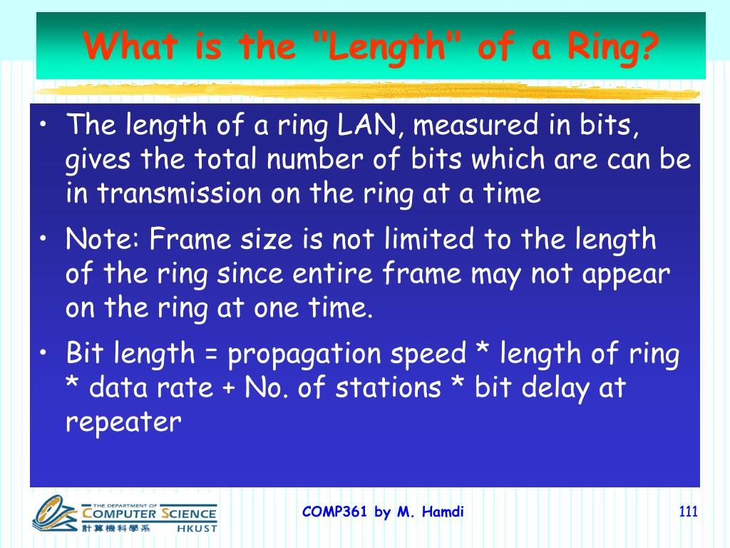 "What is the ""Length"" of a Ring?"