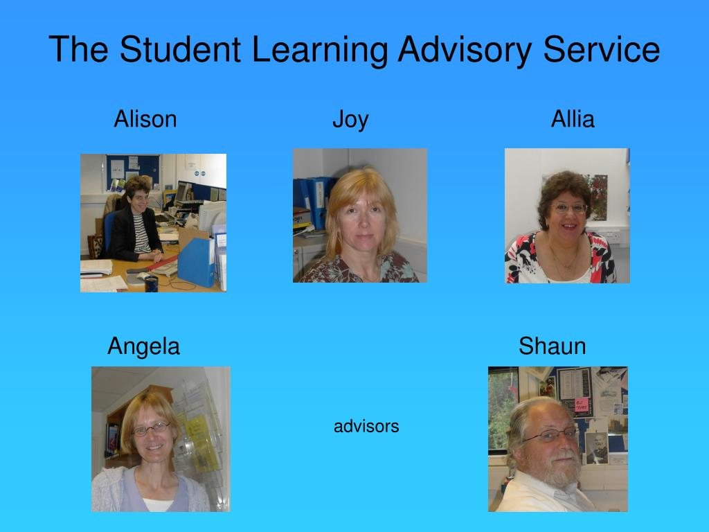 The Student Learning Advisory Service