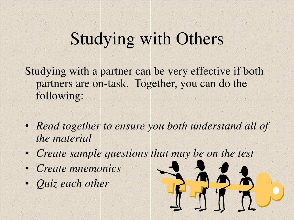 Studying with Others
