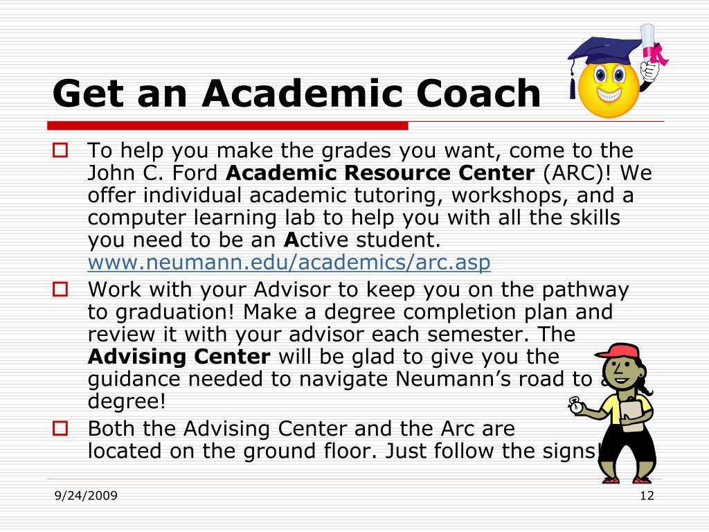 Get an Academic Coach