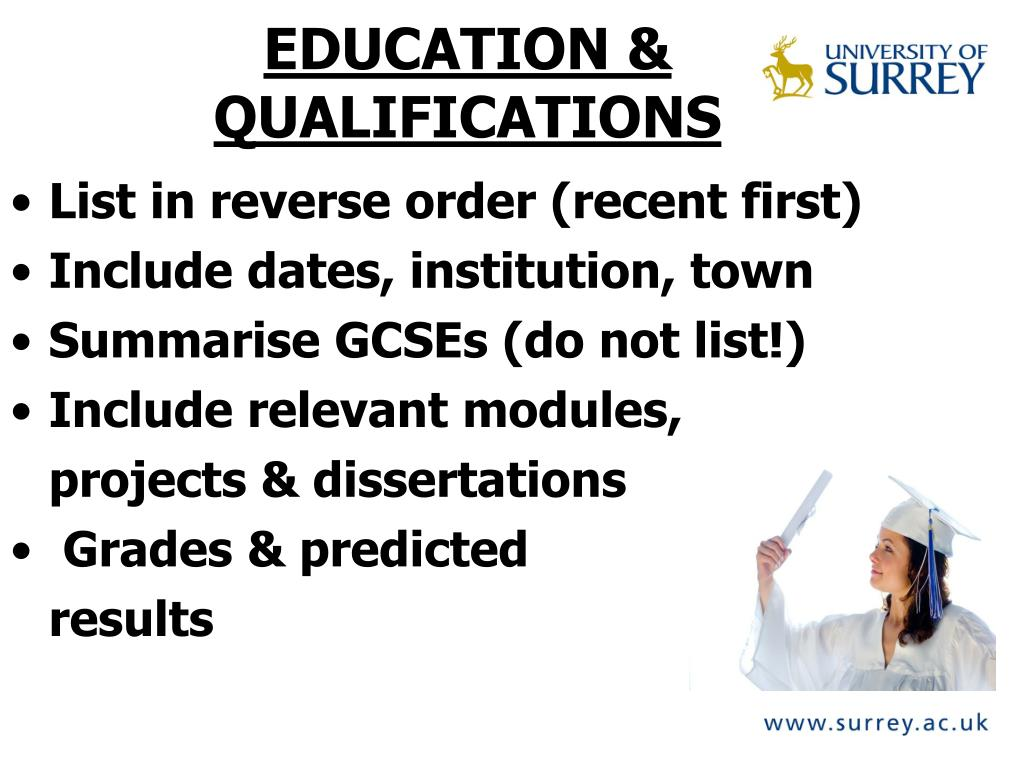 EDUCATION &
