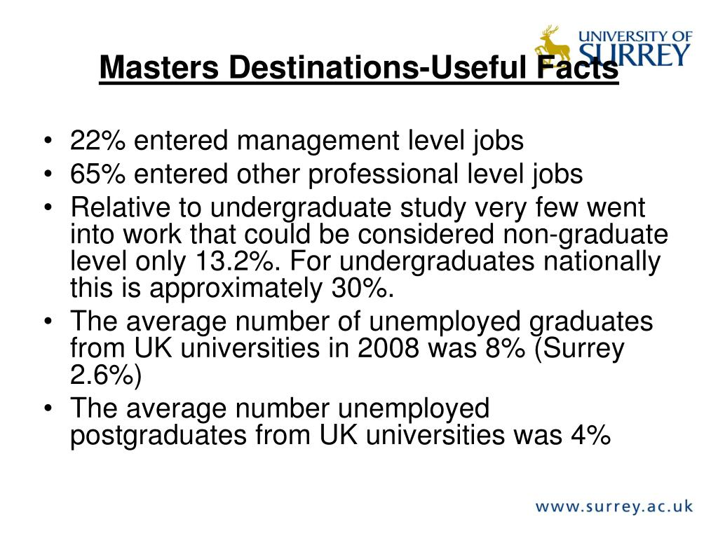 Masters Destinations-Useful Facts