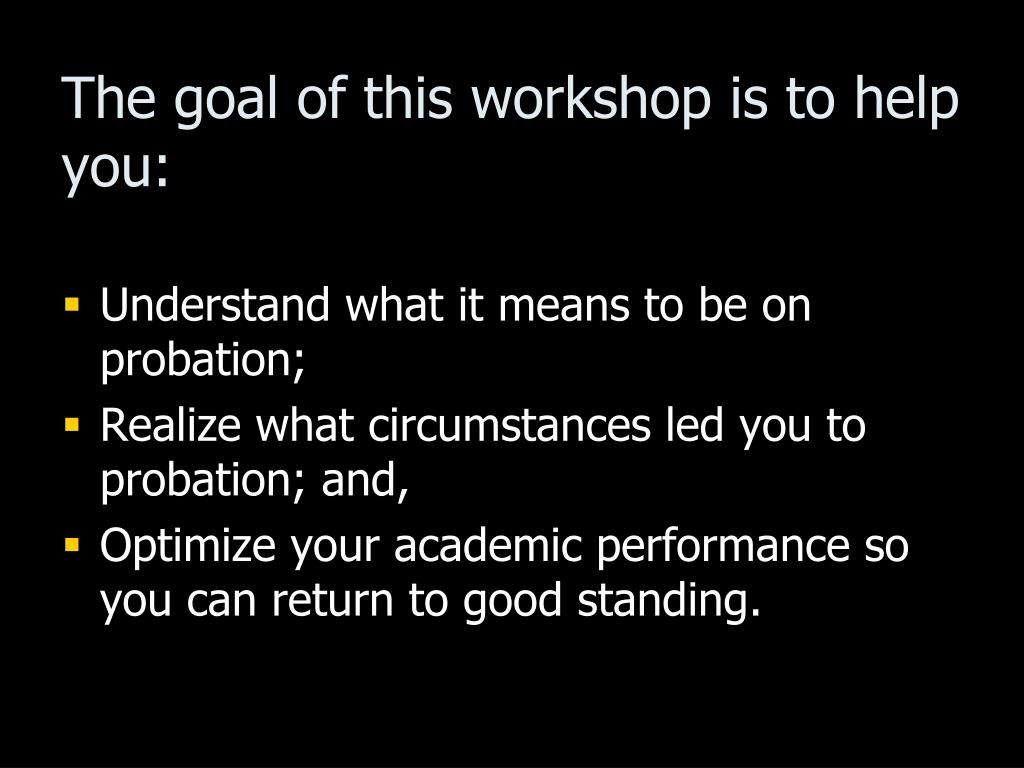 The goal of this workshop is to help you: