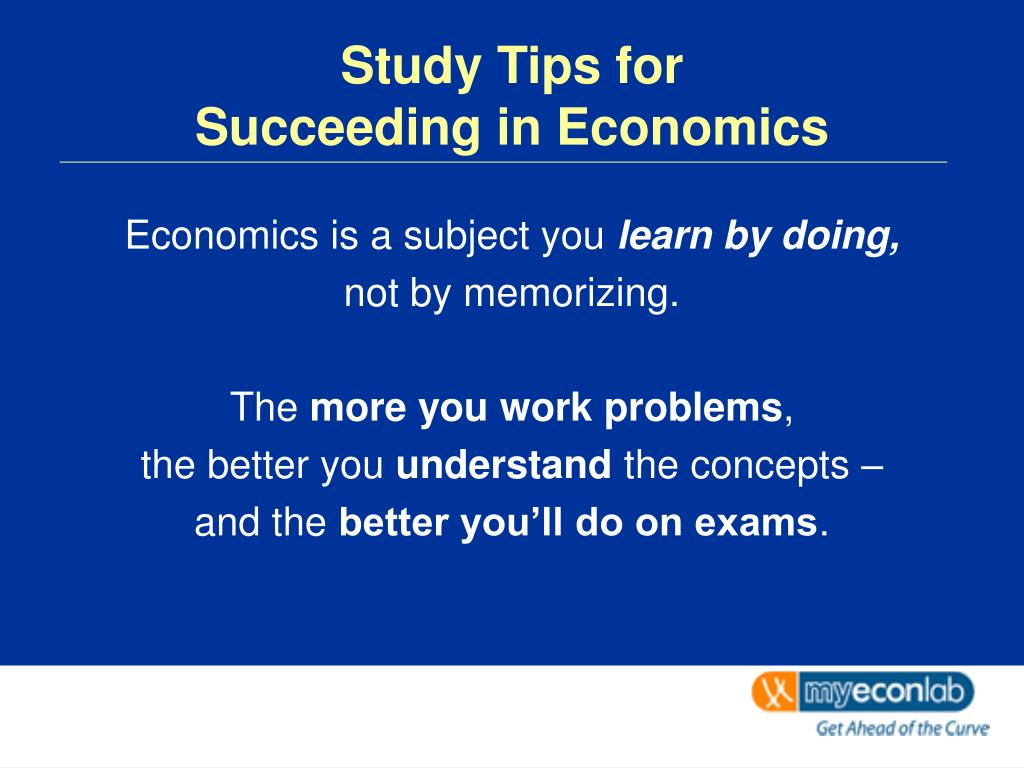 Study Tips for