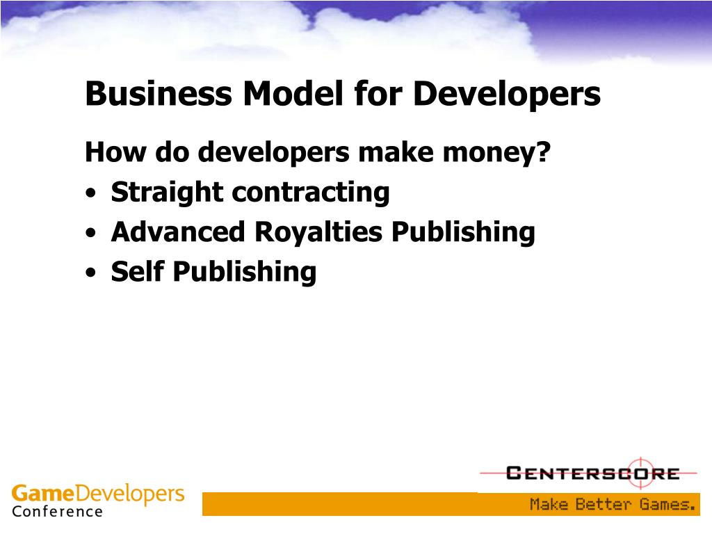 Business Model for Developers