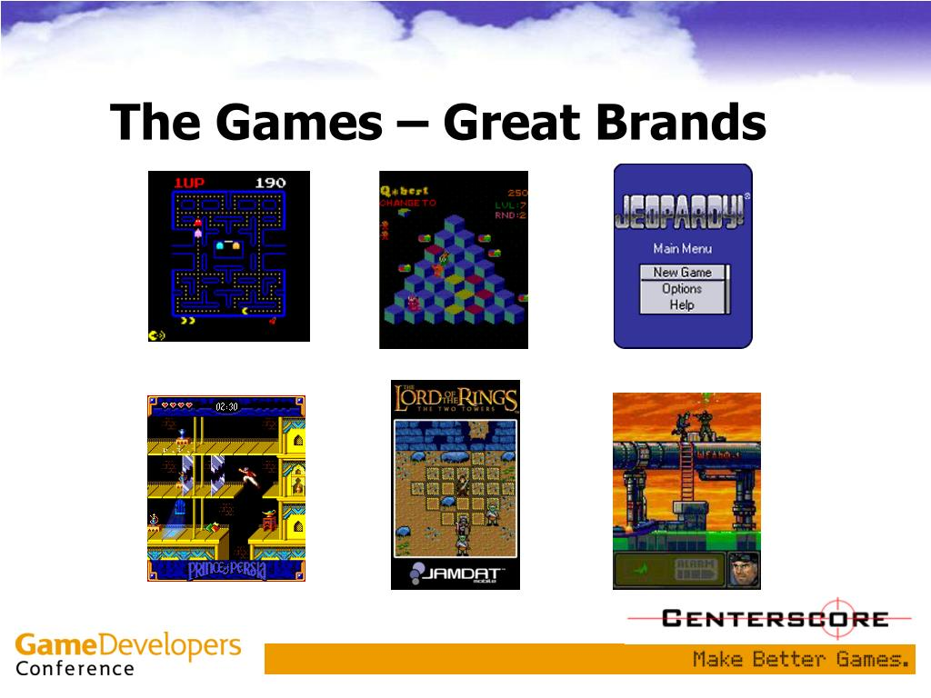 The Games – Great Brands