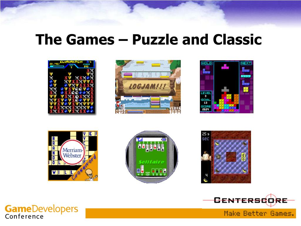 The Games – Puzzle and Classic