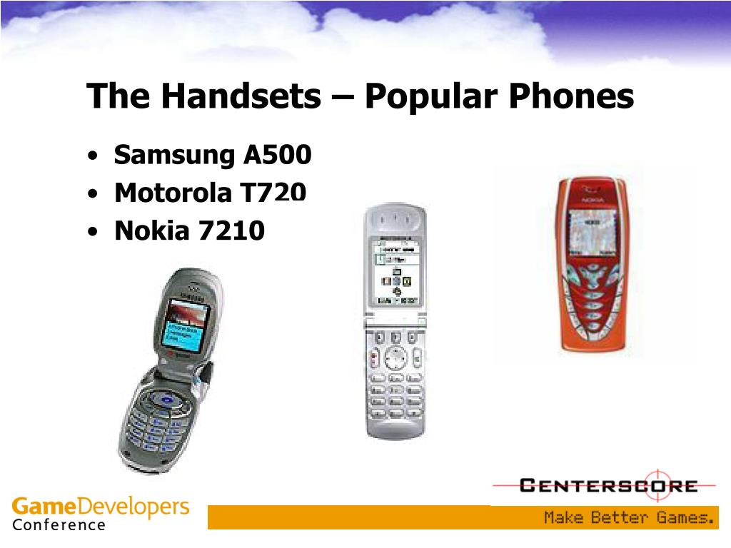 The Handsets – Popular Phones