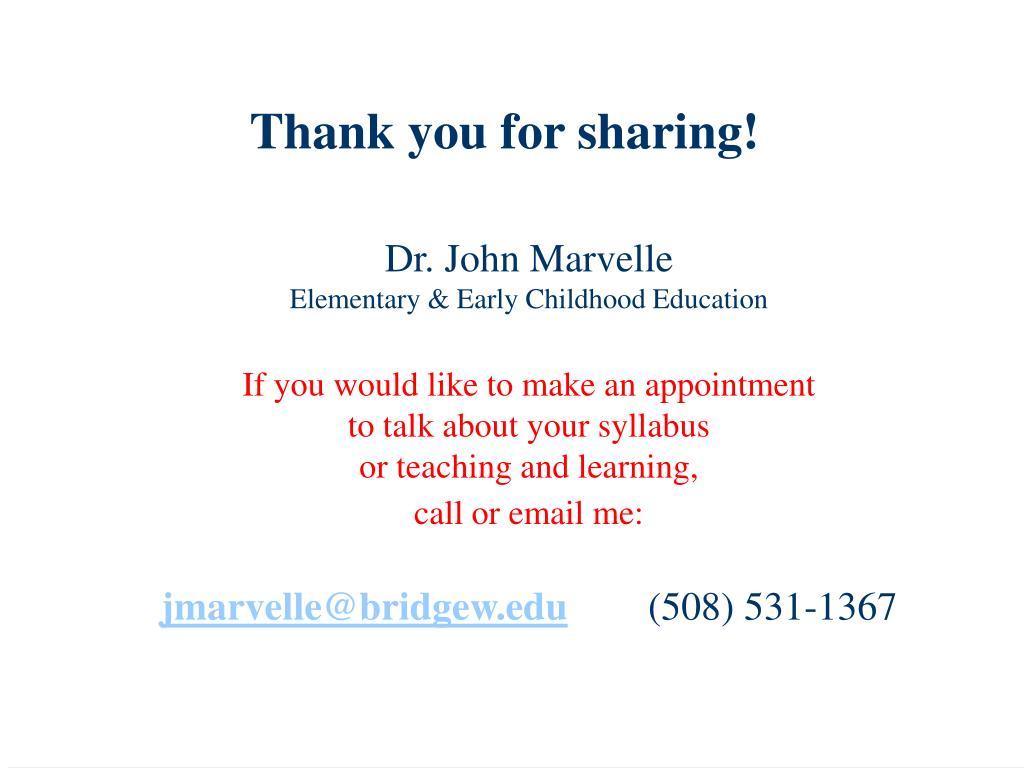 Dr. John Marvelle