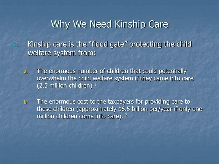 Why we need kinship care