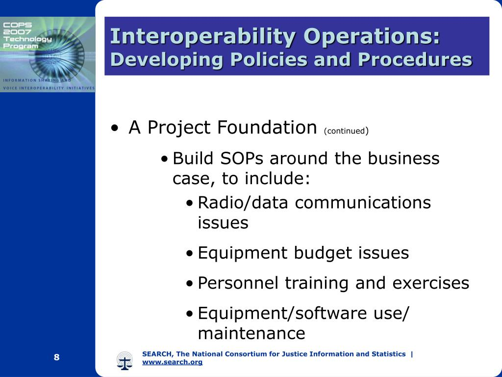 Interoperability Operations: