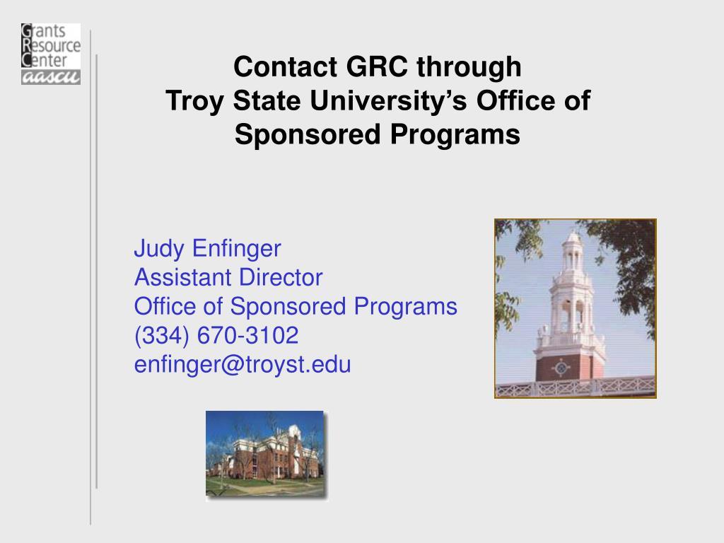 Contact GRC through