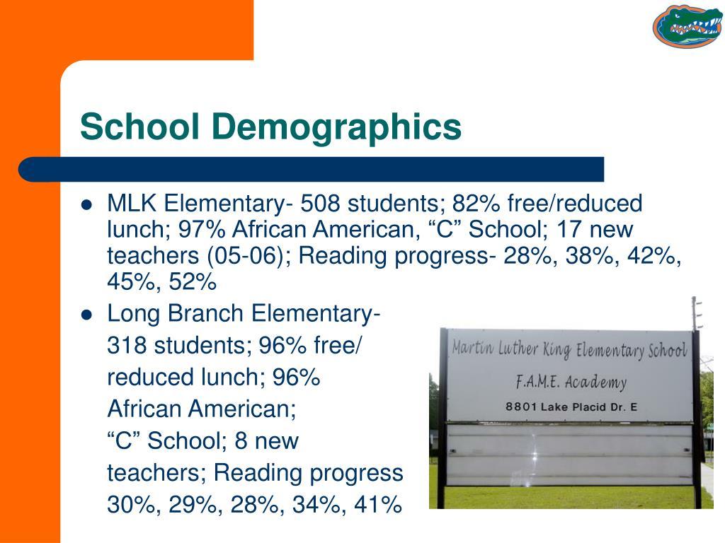 School Demographics