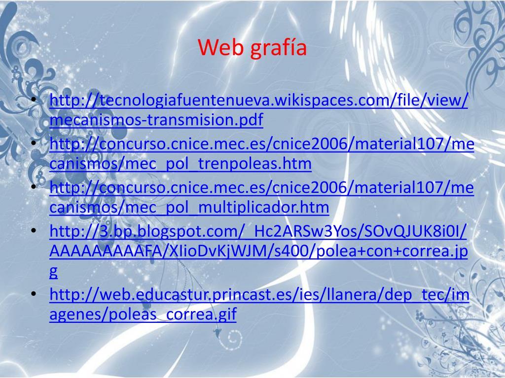Web grafía