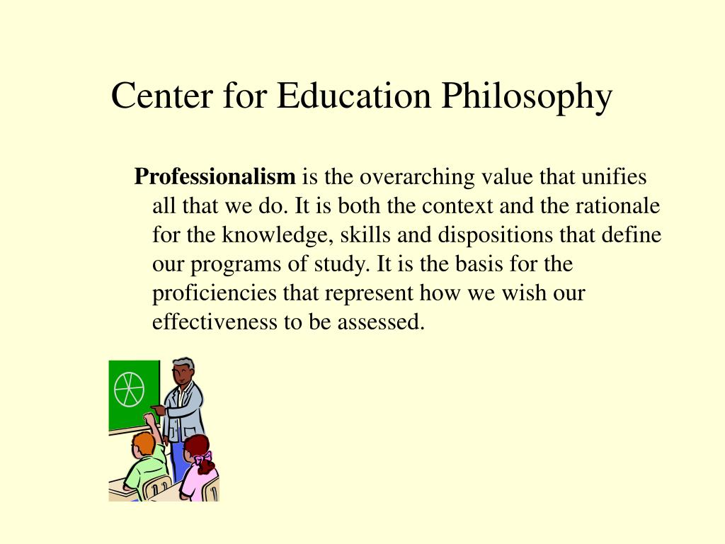 Center for Education Philosophy