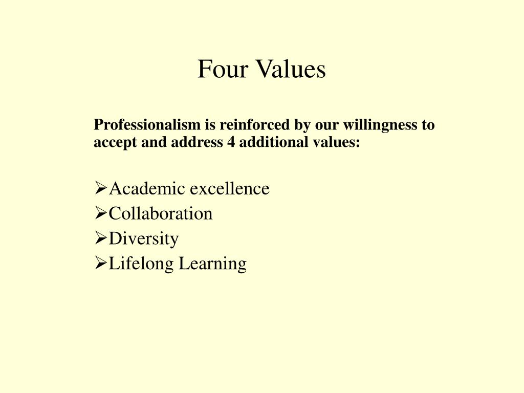 Four Values