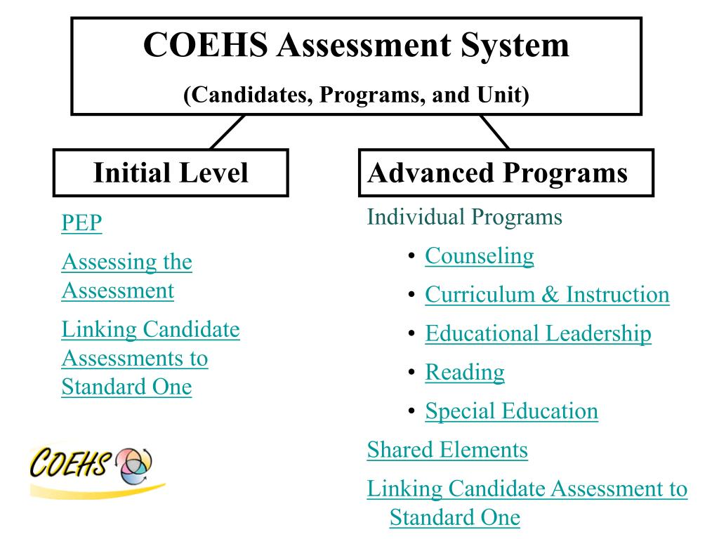 COEHS Assessment System