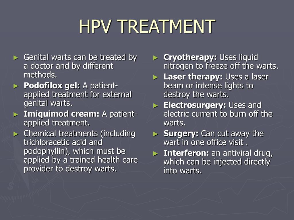 Best Natural Treatment For Hpv