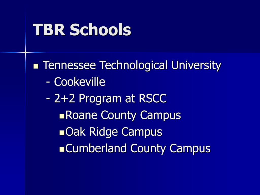 TBR Schools