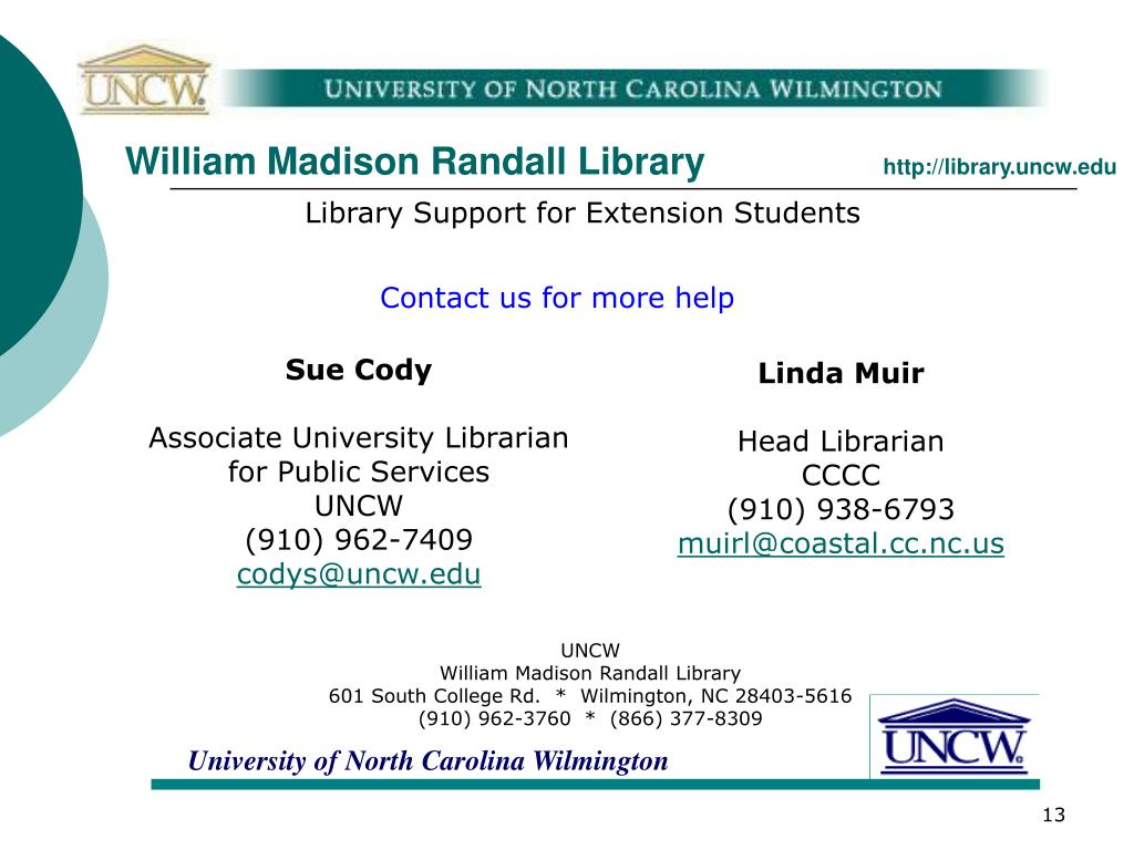 William Madison Randall Library