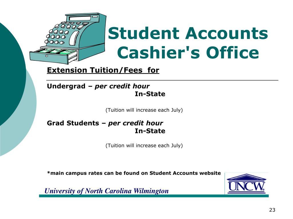 Student Accounts