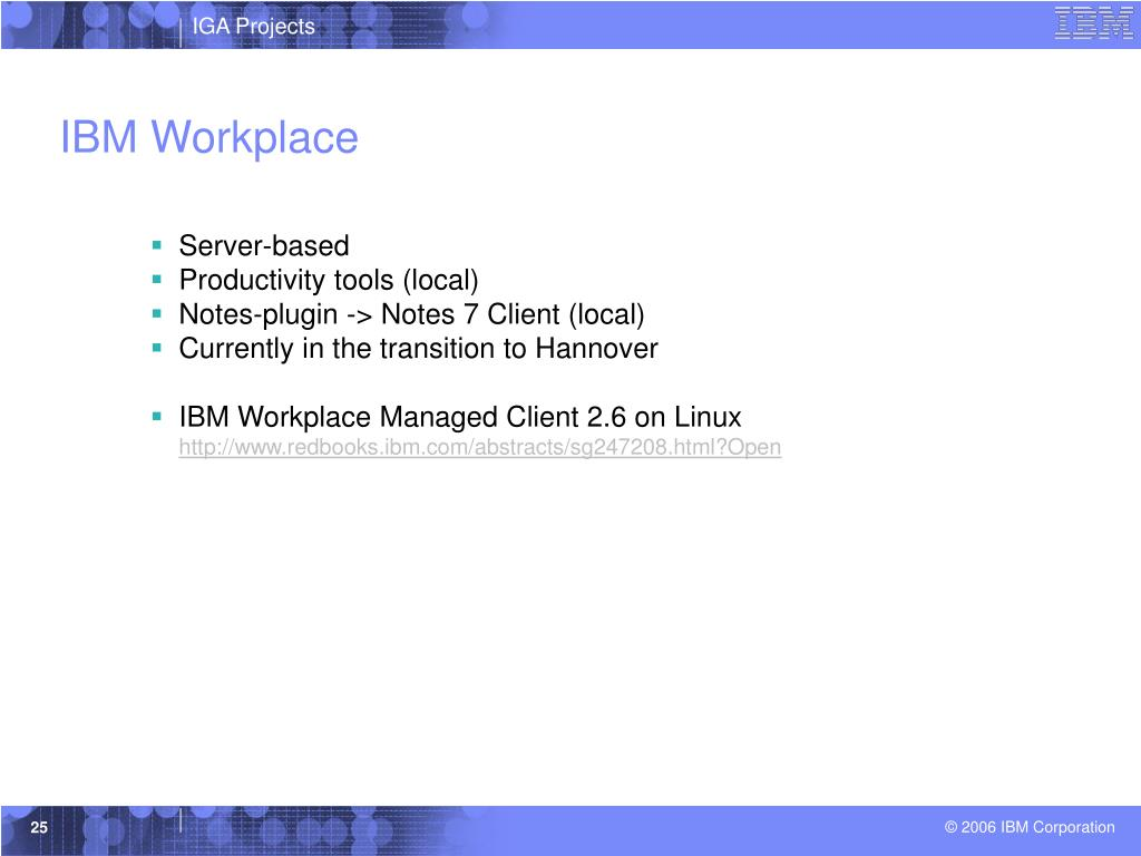 IBM Workplace