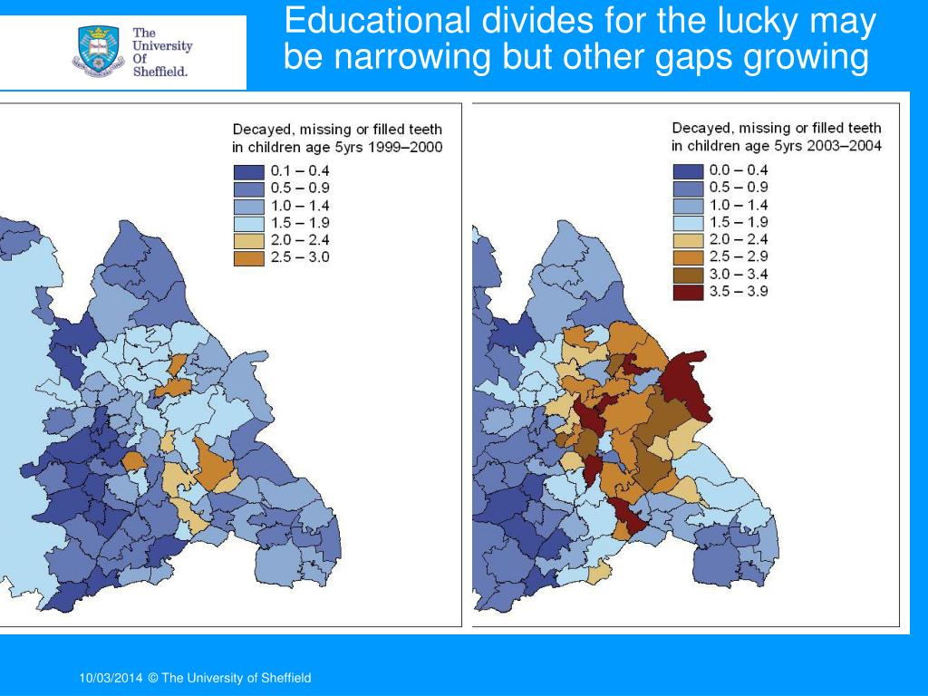 Educational divides for the lucky may be narrowing but other gaps growing