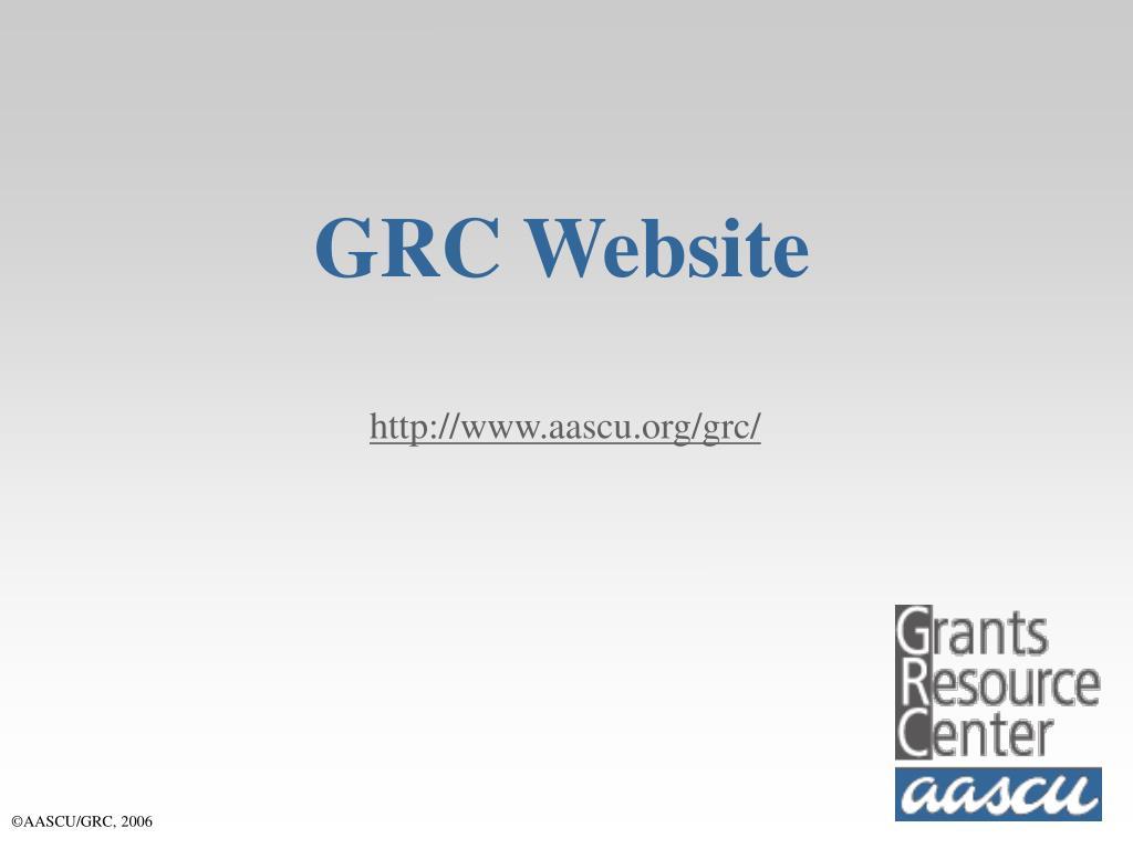 GRC Website